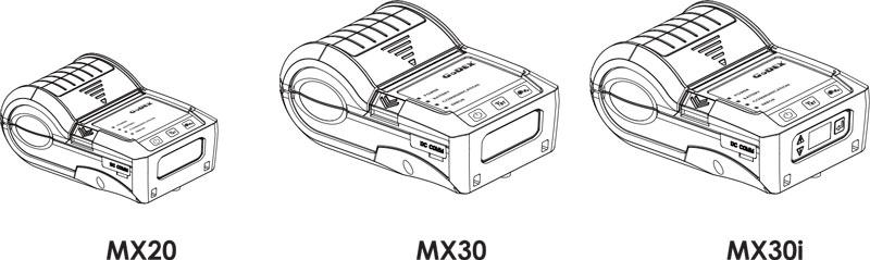 MX20 / MX30 / MX30i Mobile Printer