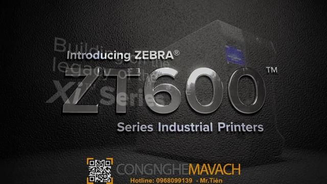 Máy in mã vạch ZT610-Zt600