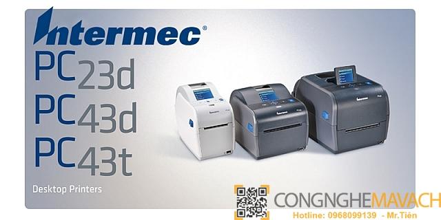 Máy in mã vạch Honeywell Intermec PC43t PC43d PC23D