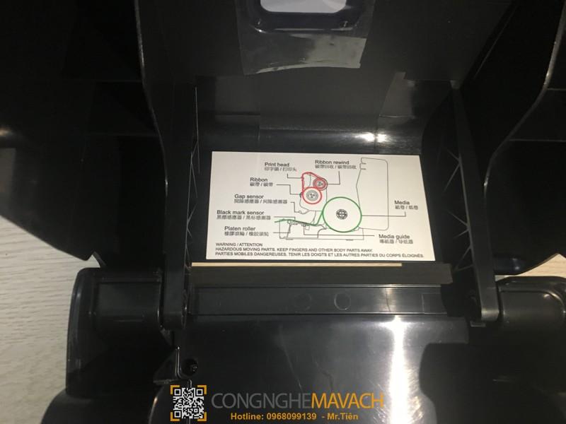 Máy in mã vạch để bàn TSC TE200