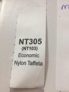 Tem nhãn vải NT305