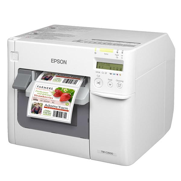 Máy in nhãn màu Epson TM-C3510