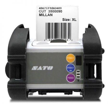 Máy in tem mã vạch Sato MB400i