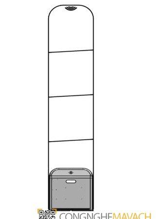 Cổng từ an ninh Eguard EG-8406W